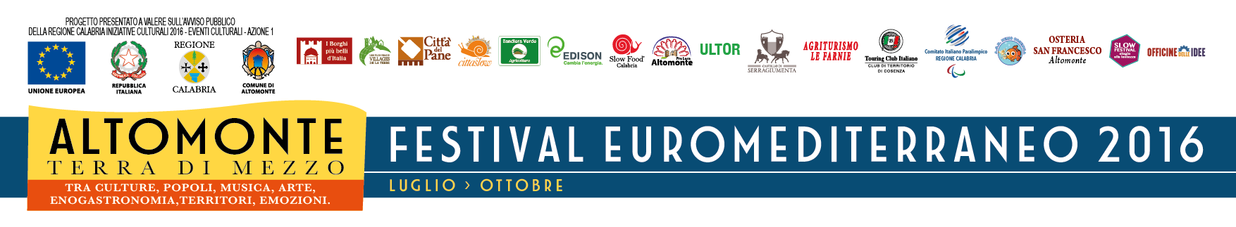 Altomonte Festival 2016