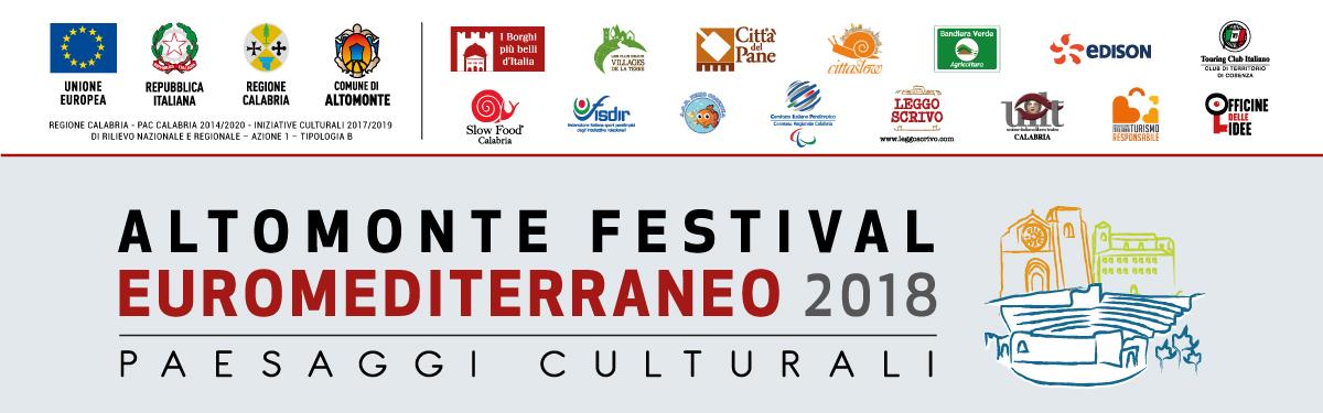 Altomonte Festival Euromediterraneo 2018